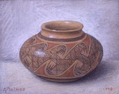 hard pastels and chalks on paper 1999