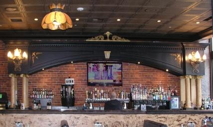 Design commission: back bar of restaurant