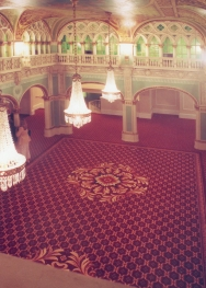 Design for Brinton's U.S. Axminster wool carpet.