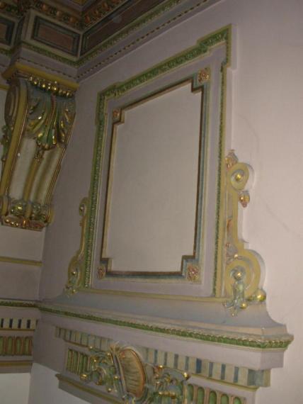 BEFORE: Interior church detail.