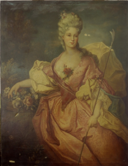 Isabella, painting, Davenport, hotel, Melville Holmes, restoration