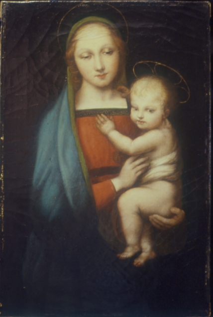 AFTER: Painting of Madonna & Child